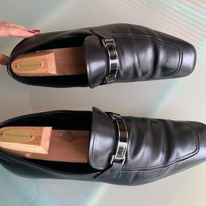 Prada men size 11 dress shoes used